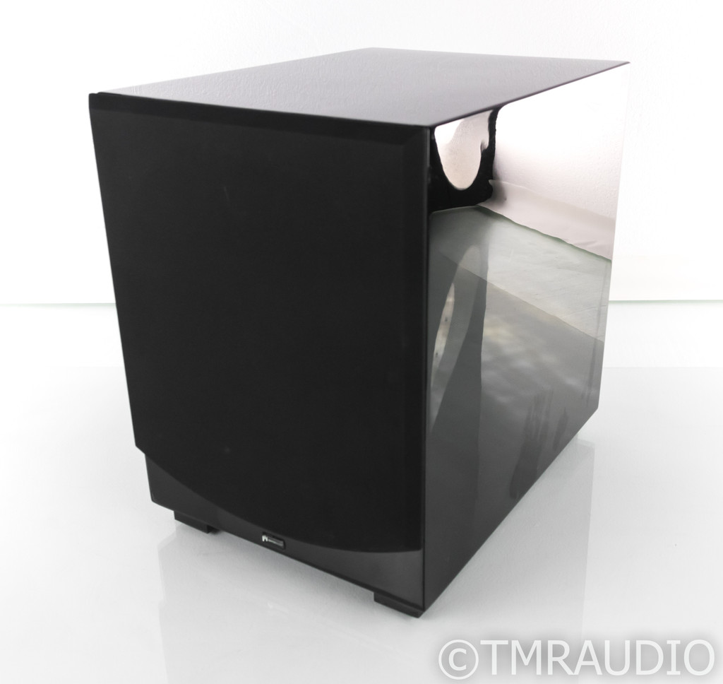 "Aperion Audio Intimus S-10 10"" Powered Subwoofer; Gloss Black; S10"