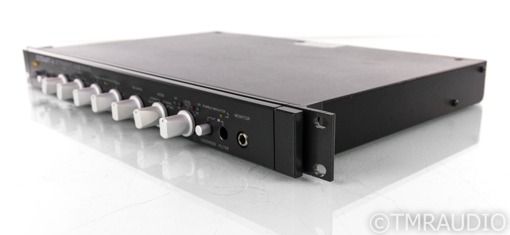 Crown Straight Line Two Stereo Preamplifier; Walnut Cabinet; SL-2