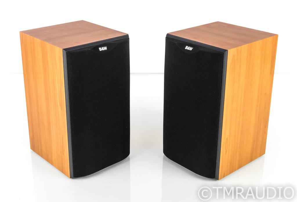B&W DM601 S2 Bookshelf Speakers; Cherry Pair; DM601S2