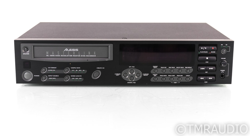 Alesis Masterlink ML-9600 CD / Hard Disk Recorder; ML9600