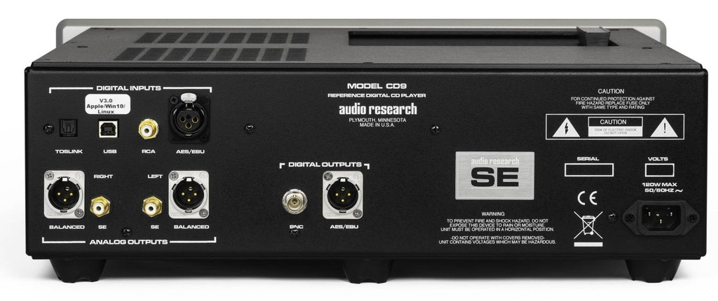 Audio Research Reference CD9 SE CD Player / DAC; REFCD9SE (New)