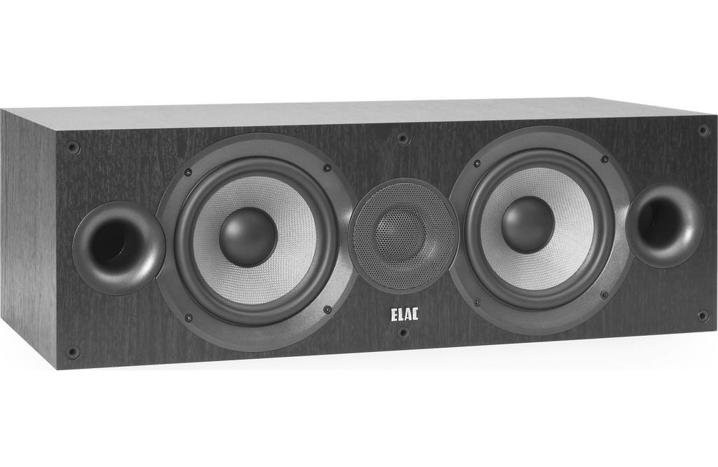 """ELAC Debut 2.0 Center Channel Speaker; 6.5"""" Drivers; New w/ Full Warranty"""