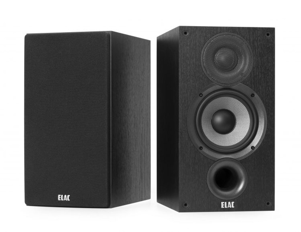 "ELAC Debut 2.0 Bookshelf Speakers; 5.25"" Drivers Pair; New w/ Full Warranty"