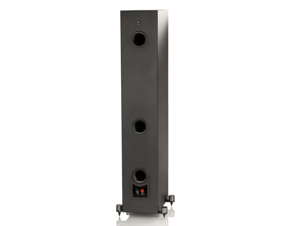 Elac Uni-Fi Slim Floorstanding Speaker; Single Black; New w/ Full Warranty