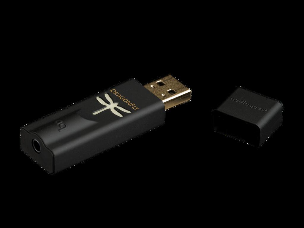 Audioquest DragonFly Black USB DAC  / Preamp / Headphone Amplifier