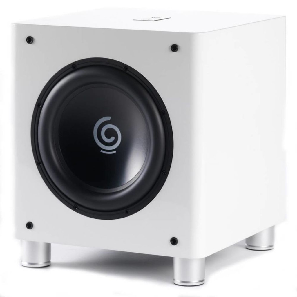 "Sumiko S.10 12"" Powered Subwoofer; White; S10 (New - Closeout)"