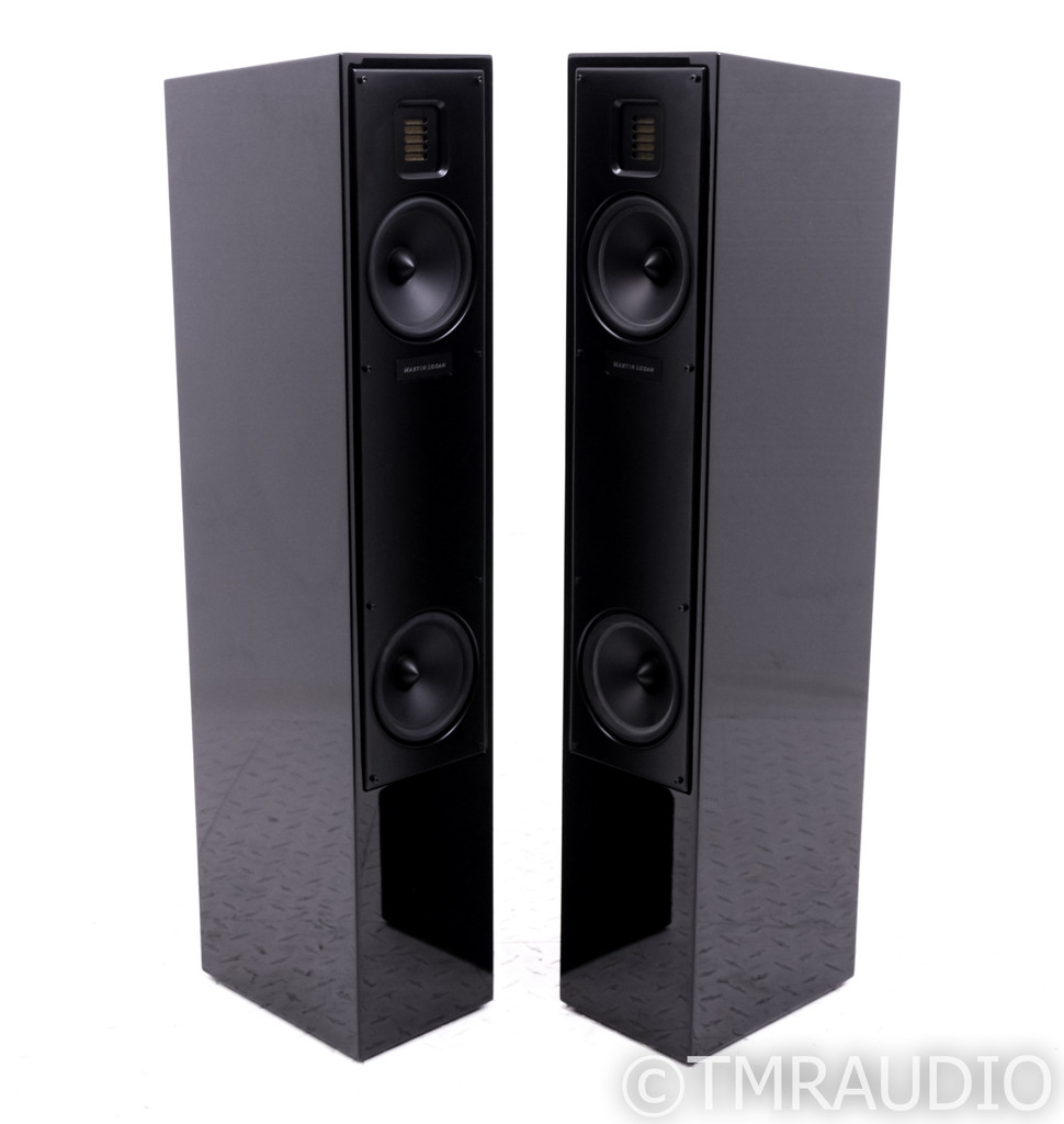 Martin Logan Motion 20 Floorstanding Speakers; Gloss Black Pair