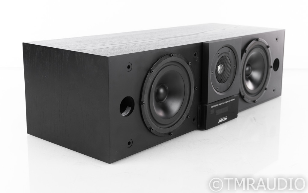 Meridian DSP5000C Digital Powered Center Channel Speaker; Black Finish