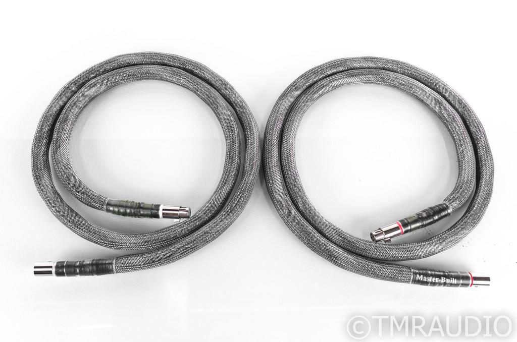 MasterBuilt Signature XLR Cables; 6ft Pair Interconnects