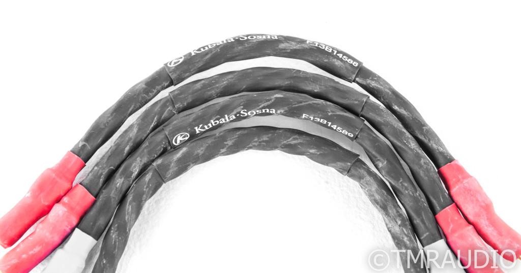 "Kubala Sosna Fascination Bi-wire Speaker Jumper Cables; 10"" Pair"