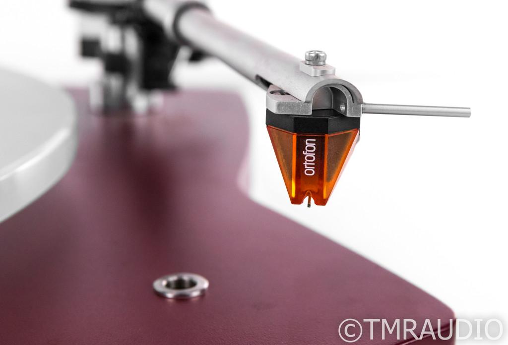 Thorens TD 309 Belt Drive Turntable; TD309; Ortofon 2M Bronze; Dustcover