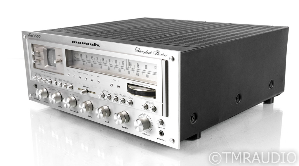 Marantz Model 2500 Vintage Stereo Receiver; MM Phono; Restored