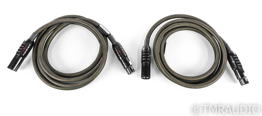 WireWorld Gold Eclipse 7 XLR Cables; 2m Pair Balanced Interconnects