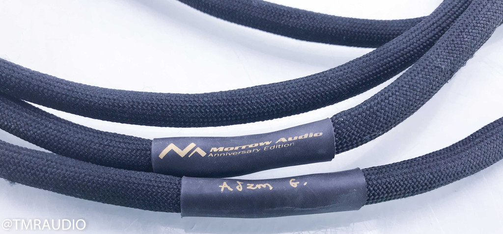 Morrow Audio 10 Year Anniversary XLR Cables; 1.5m Pair Balanced Interconnects