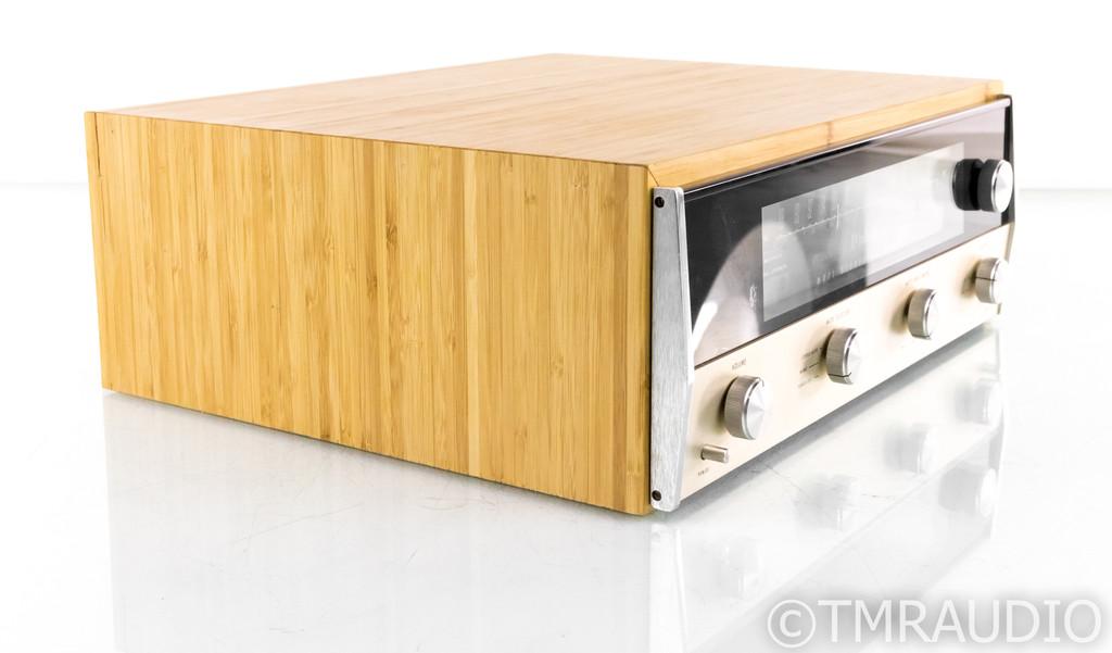McIntosh MR71 Vintage Stereo FM Tuner; MR-71; Bamboo Cabinet