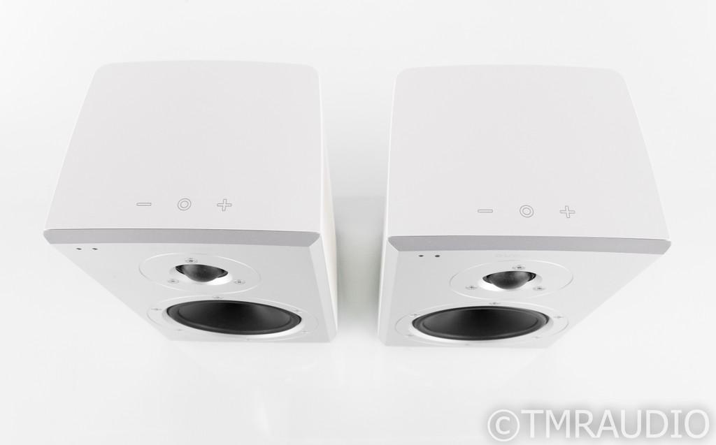 Dynaudio Xeo 2 Powered Wireless Bookshelf Speakers; White Pair; Bluetooth