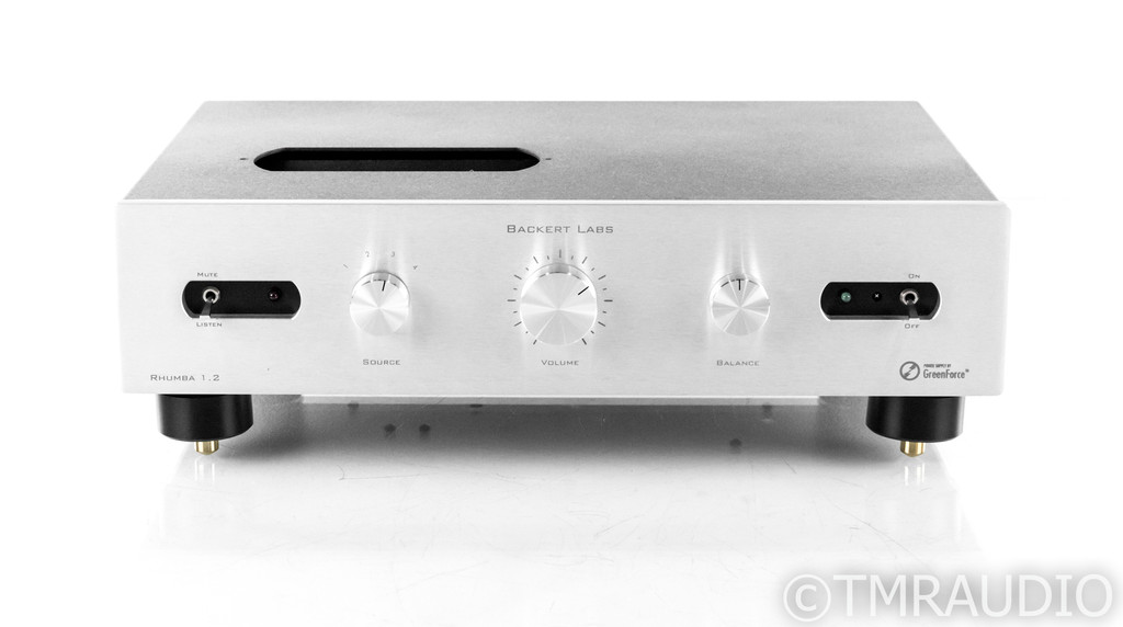 Backert Labs Rhumba 1.2 Extreme Stereo Tube Preamplifier; Upgraded; NOS Tubes