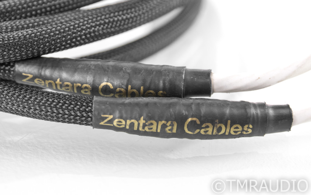 Zentara Reference Speaker Cables; 9ft Pair