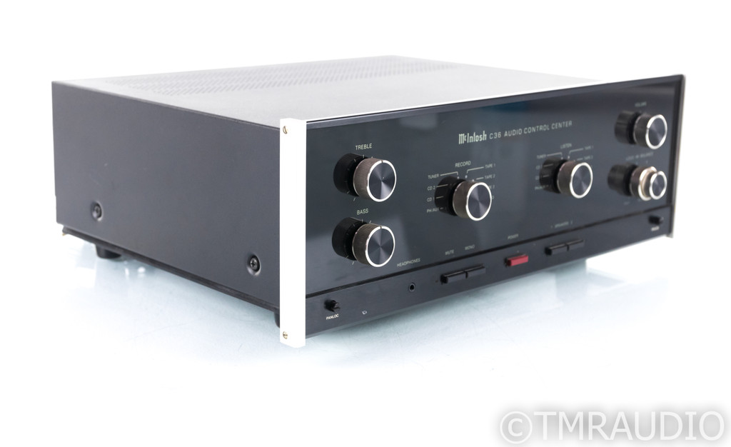 McIntosh C36 Stereo Preamplfiier; C-36; MM Phono (SOLD2)