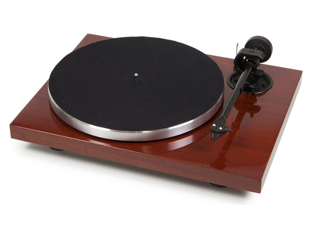 Pro-Ject 1Xpression Carbon Classic - MSRP $1,100 - Exclusive Closeout; Mahagony; Ortofon 2M Silver (New)
