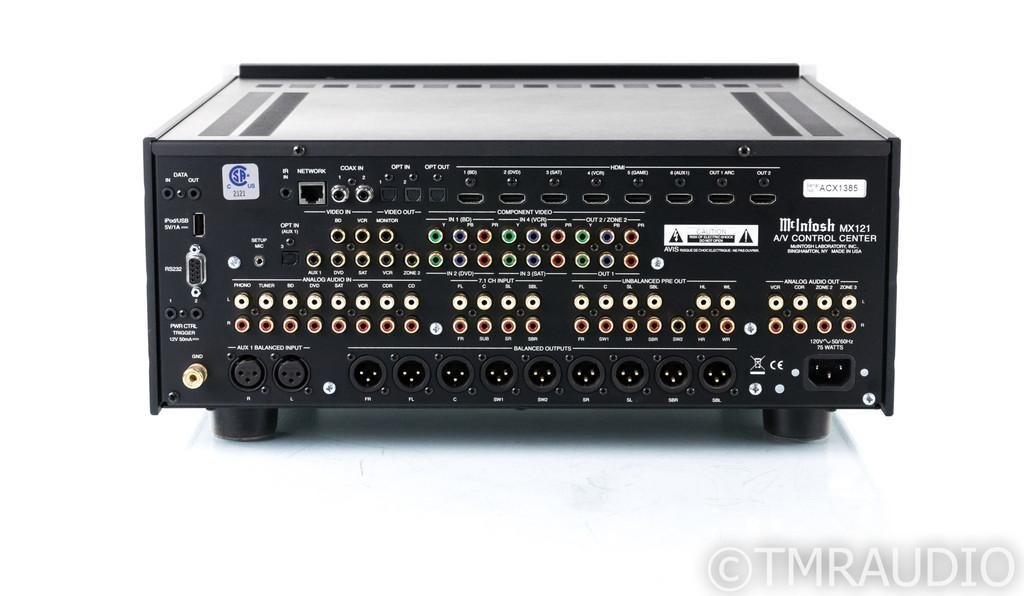 McIntosh MX121 7.1 Channel Home Theater Processor; MX-121; MM Phono (1/1)
