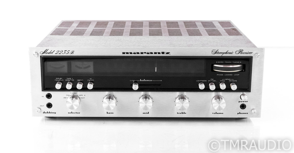 Marantz 2235B Vintage Stereo AM / FM Receiver; 2235-B; MM Phono