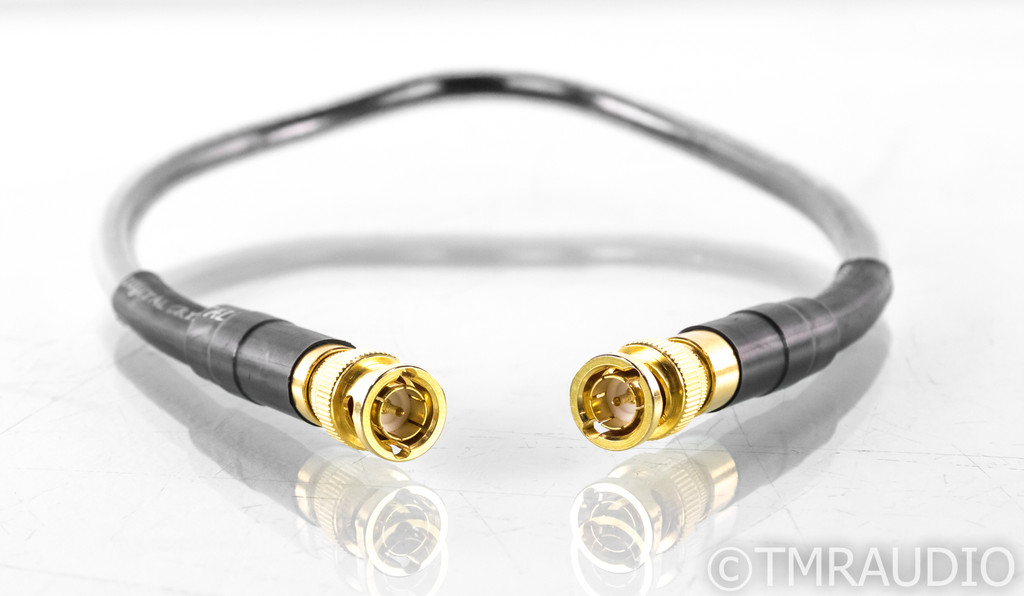 Analysis Plus Digital Crystal BNC Digital Coaxial Cable; Single .5m Interconnect