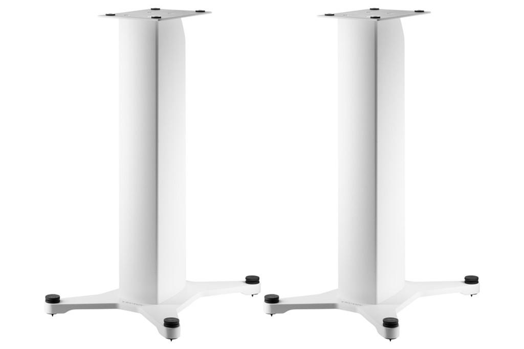 "Dynaudio Stand 20 Speaker Stands; 24""; White Pair (New)"