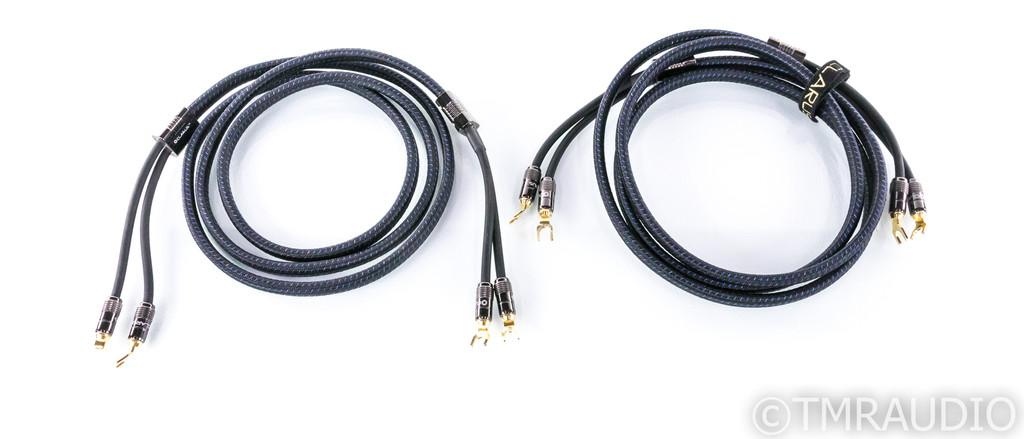 Clarus Aqua Speaker Cables; 8ft Pair (SOLD)
