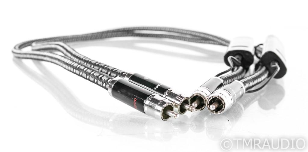 AudioQuest Niagara RCA Cables; 1m Pair Interconnects; 72v DBS