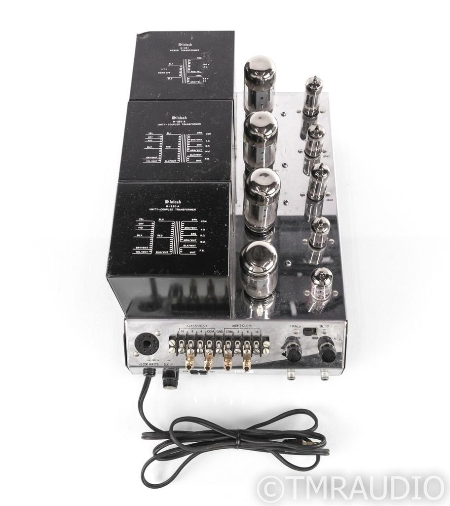 McIntosh MC225 Vintage Stereo Tube Power Amplifier; MC-225