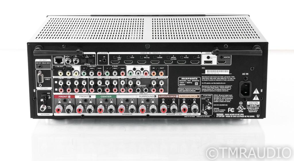 Marantz SR5010 7.2 Channel Home Theater Receiver; SR-5010; Remote