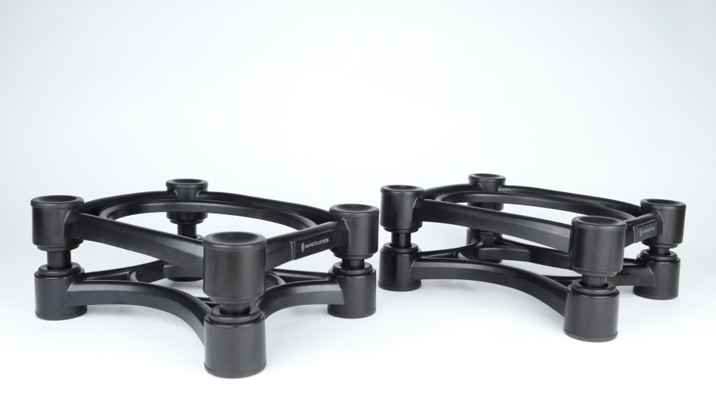 IsoAcoustics ISO-200 Isolation Stand; Pair;  New w/ Full Warranty