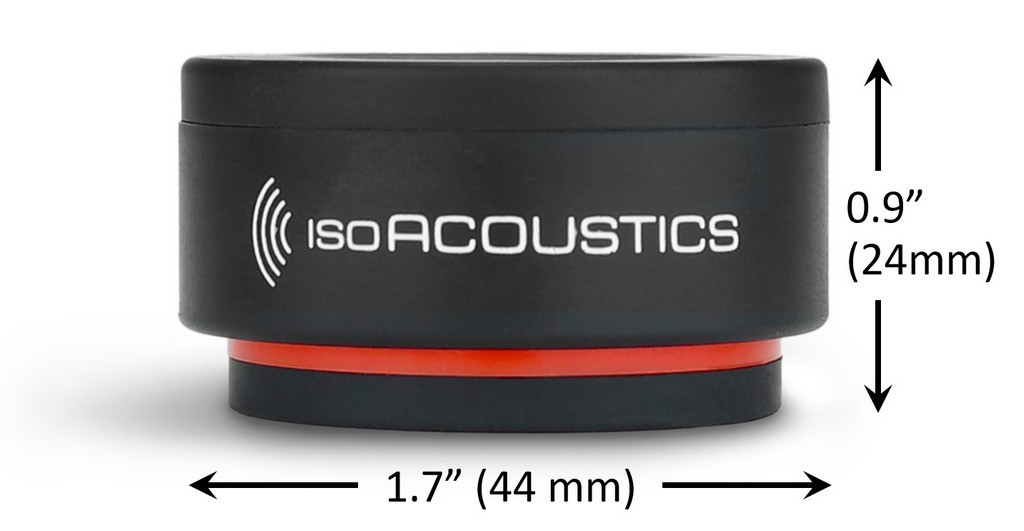 IsoAcoustics Iso Puck mini; Pack of 8; New w/ Full Warranty
