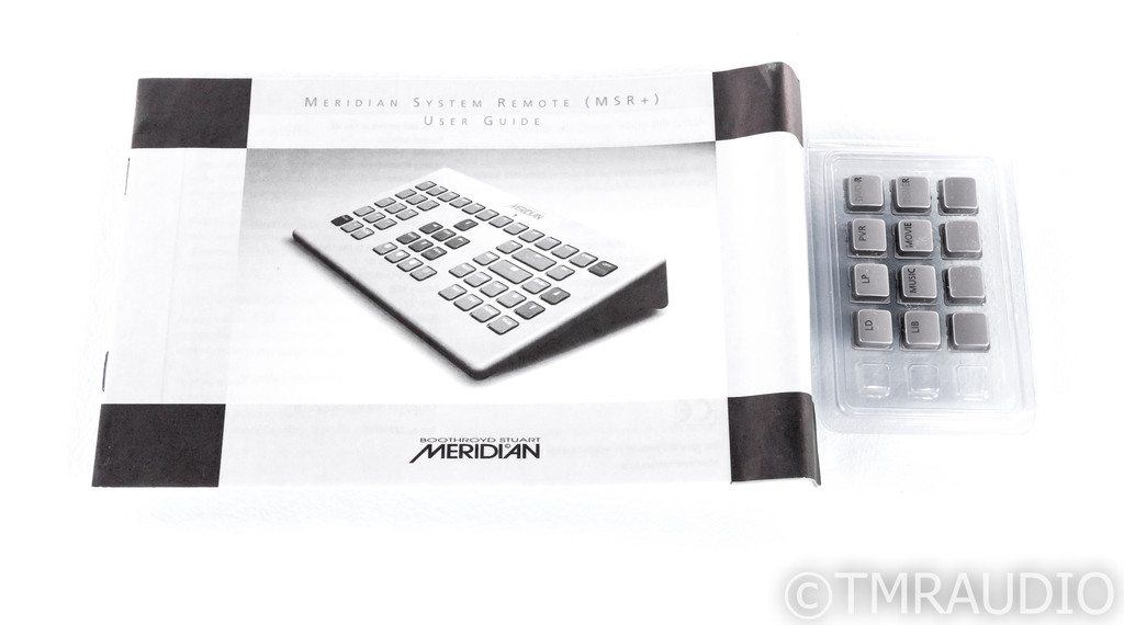 Meridian MSR+ Home Theater System Remote; Silver