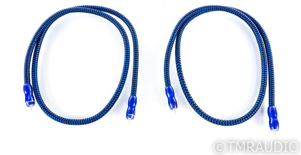 AudioQuest Diamondback RCA Cables; 1m Pair Interconnects (New)