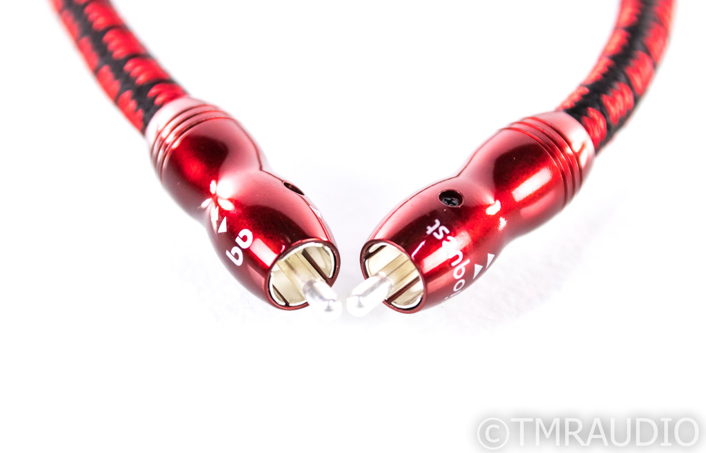 AudioQuest King Cobra RCA Cables; .5m Pair Interconnects (New) (SOLD)