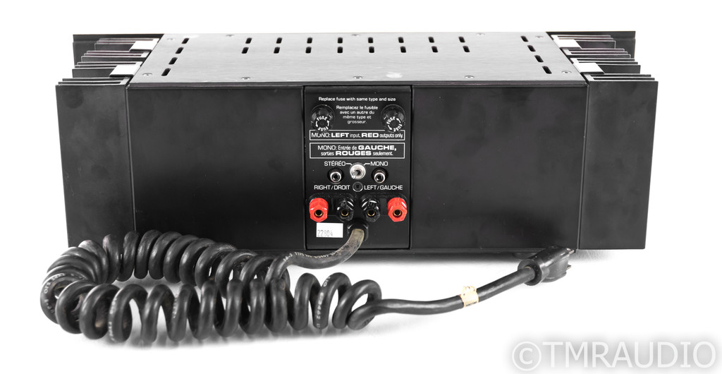 "Bryston 3B Vintage Stereo Power Amplifier; Black; 19"""