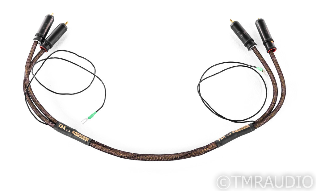 Kimber Kable TAK Cu RCA Phono Cables; 0.5m Pair Interconnects (SOLD)