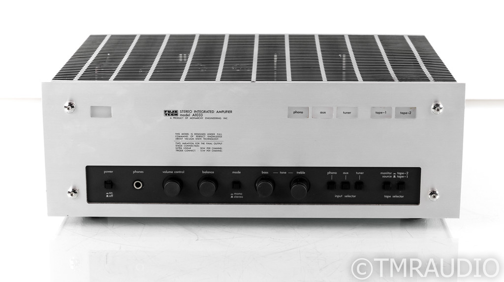 Fujitech A1033 Stereo Tube Integrated Amplifier; MM Phono; Luxman LX33