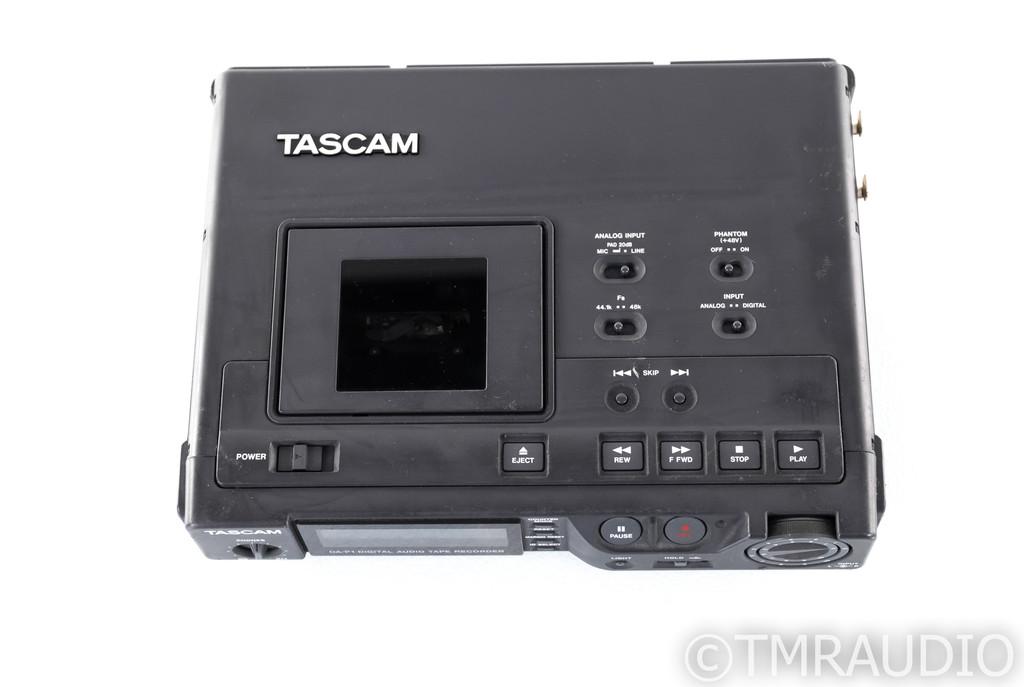 Tascam DA-P1 Vintage Portable DAT Recorder; DAP1 (No Power Adapter; Untested)
