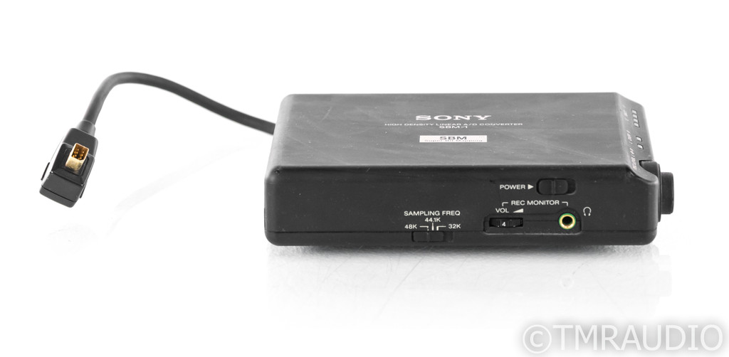 Sony SBM-1 Vintage Super Bit Mapping Adapter; A/D Converter for DAT Recorders