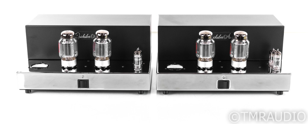 Quicksilver Audio Silver 88 Mono Tube Power Amplifier; Pair