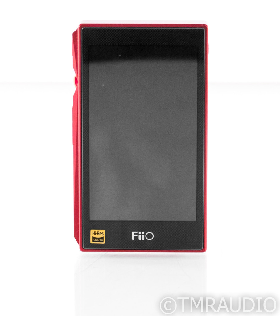 FiiO X5 Gen 3 Portable Music Player; Red; X-5 III; FX5321; 64GB SD Card