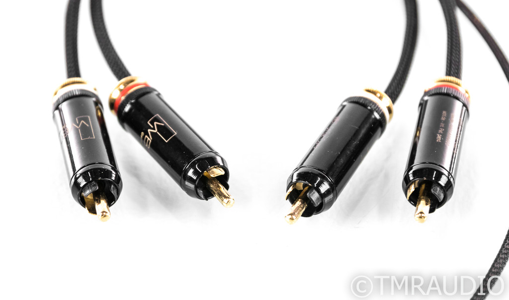 Kimber Kable KS-1216 RCA Phono Cables; 1.5m Pair Interconnects; WBT-0102CU