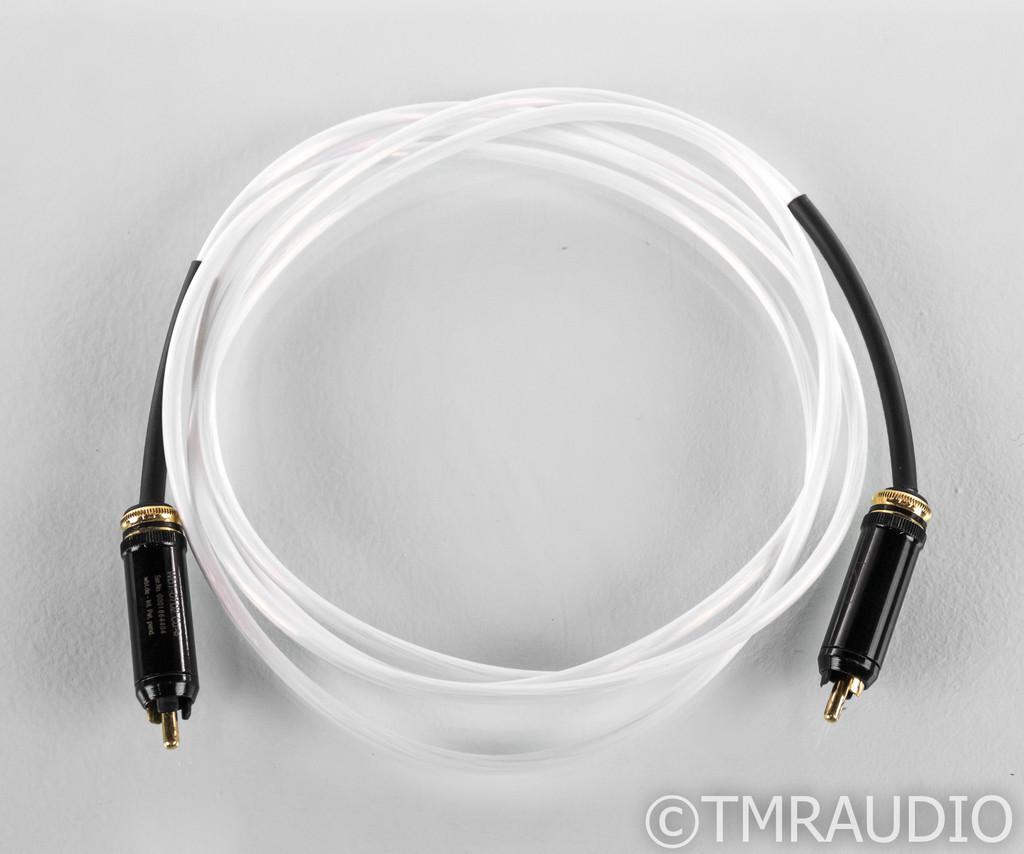 Kimber Kable D60 RCA Coaxial Cable; 2m Digital Interconnect; D-60; WBT-0102CU