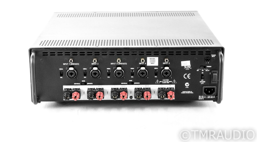 Lexicon LX-5 5 Channel Power Amplifier; LX5 (SOLD2)