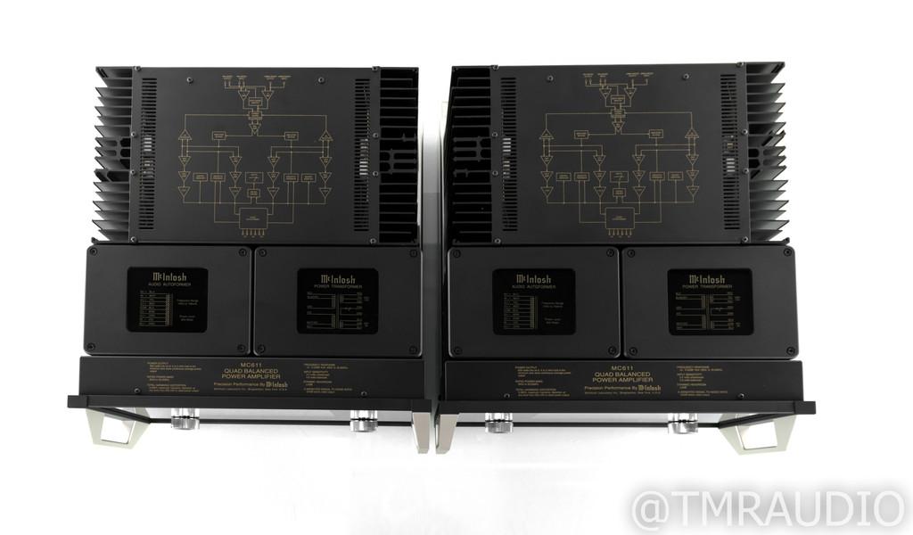 McIntosh MC611 Mono Power Amplifier; MC-611; Pair