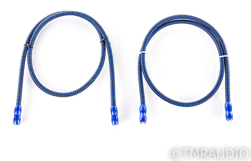 Audioquest Diamondback RCA Cables; 1m Pair Interconnects