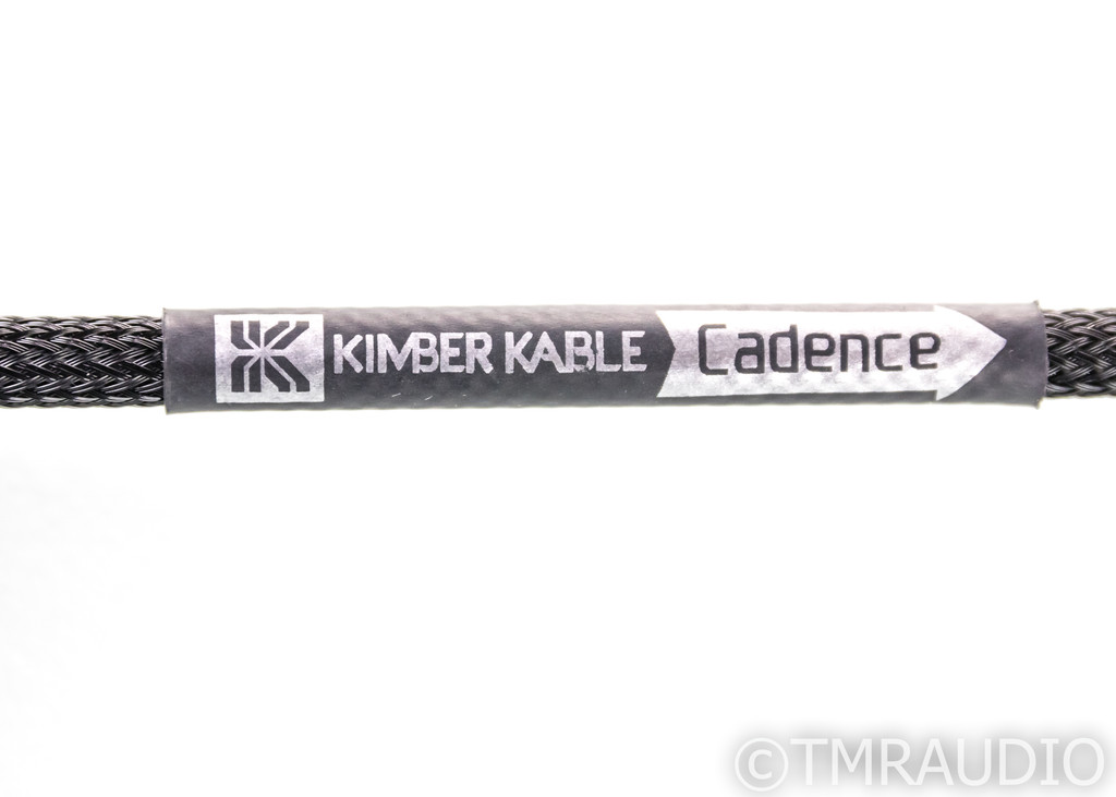 Kimber Kable Cadence RCA Subwoofer Cable; Single 6m Interconnect
